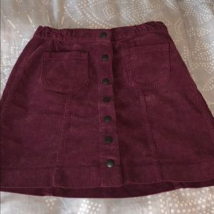 Brandy Melville Button Up Skirt